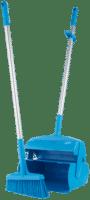 VIKAN Dustpan set closable with broom